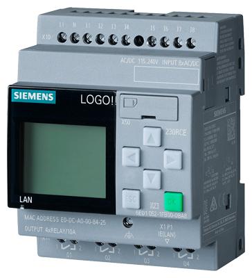 Modulo logica con Display Siemens LOGO 6ed1052-1fb08-0ba0 230 RCE