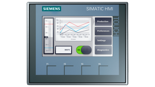 Pantalla tactil SIMATIC HMI KTP400 BASIC