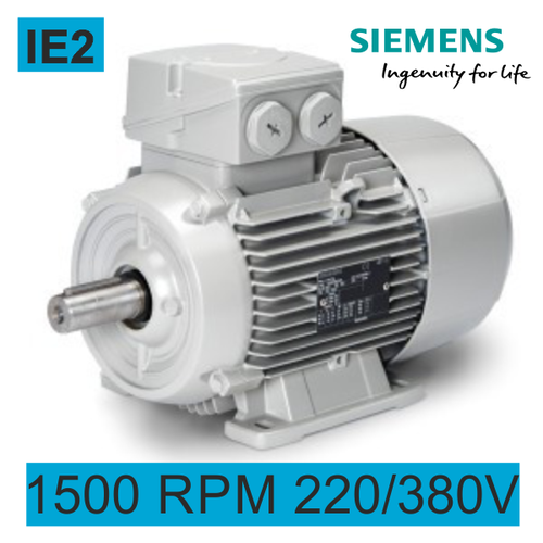 Motor electrico 1.5 Kw 1500 Rpm 230/400V B3 IE2