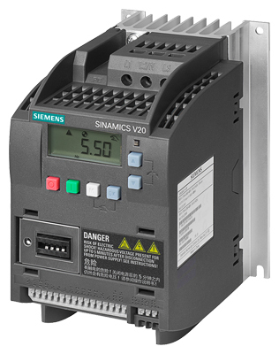 SINAMICS V20 380-480 V 3AC -15%/+10% 47-6 Rated power 2.2 kW